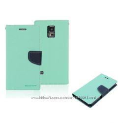 Чехол книжка Book Cover Goospery для Lenovo A6000, синий