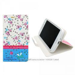 Чехол книжка Book Cover Cath Kidston with Diamonds для Lenovo A6000, синий