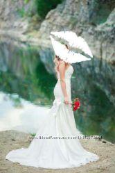Эффектное свадебное платье Rozmarini Не венчаное