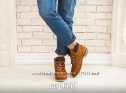 Ботинки з натур. нубука