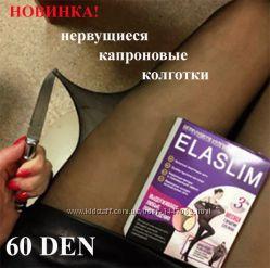 Прочные колготки из нервущейся ткани Ela Slim