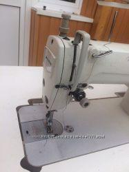 Одноигольная промышленная швейная машина челночного стежка ZOJE ZJ8700 с ни