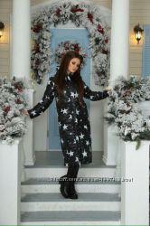 Женское пальто звезды
