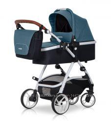 Универсальная коляска 2в1 EasyGo Optimo 2017 с сумкой