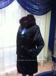 пальто осень-зима на холлофайбере размер 50-52