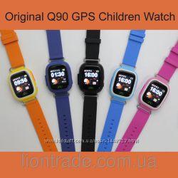 Умные детские часы Q90 с GPS трекером Гарантия