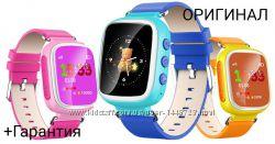 Детские умные часы Q80 с GPS трекеромГарантия