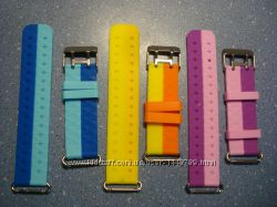 Ремешок силиконовый для детских часов Smart Baby Watch Q60 Q80 Q90