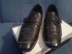 новые кожаные туфли на мальчика 36 размер