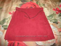 юбка с поясом
