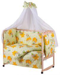 Акционный комплект для вашего малыша Кроватка, матрас, постель.
