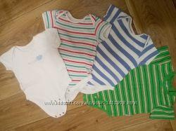 Бодики с коротким рукавом от 6 до 12 месяцев