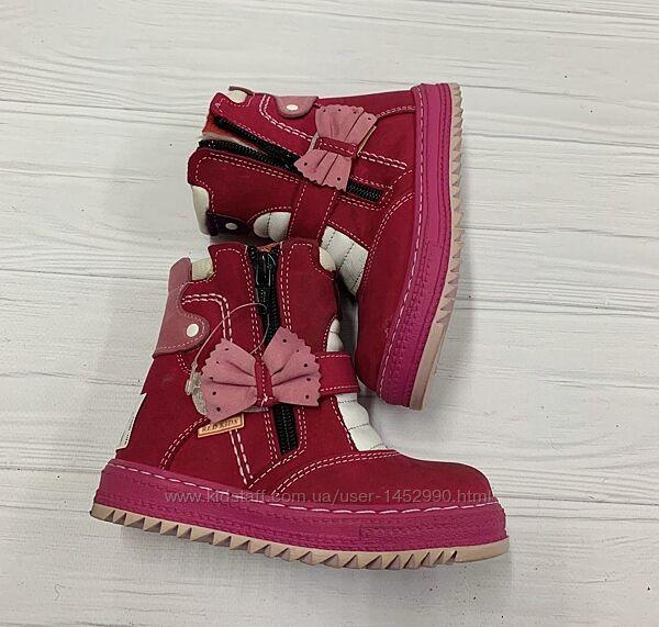 Ботинки 0091 Red Kids