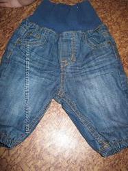 Продам джинсы на новорожденного