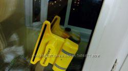Удобная магнитная щетка для мытья окон с обеих сторон  Window Wizard