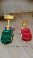 Машинки Viking Toys пожарная и экскаватор