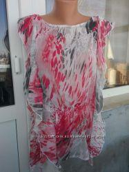 Шикарная шифоновая блуза.