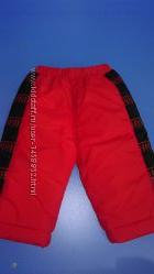 Новые зимние штаны с защитой от ветра-снега.