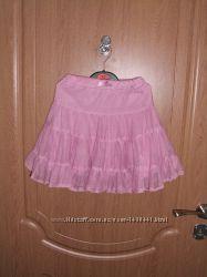 Розовая юбка б. у. Маталан на 18-23 месяца