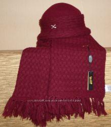 Новый элегантный комплект Глория шляпка и шарф Польша