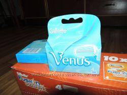 Лезвия Gillette Venus - 4шт в упаковке