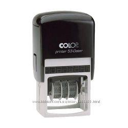 Colop Printer 53-Dater датер, со свободным полем 45х30 мм