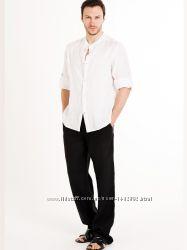 Мужской льняной костюм. Стандартные и большие размеры из льна