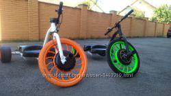 продам дрифт трайк електро и Fat drift trike, Crazy Cart XL, Багги,