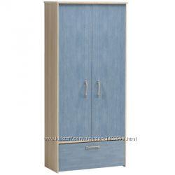 Продам шкаф для одежды пр-во Польша новый цвет джинсклён