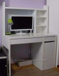 комфортный белый письменный стол от икеа 2423 грн парты столы и