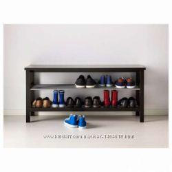 Классная скамья с полкой для обуви от Икеа