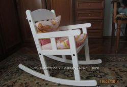 кресло качалка детское белый икеа 1580 грн парты столы и
