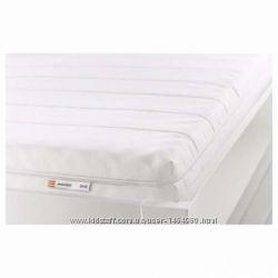 Пенополиуретановый матрас, жесткий, белый для детской кровати ИКЕА
