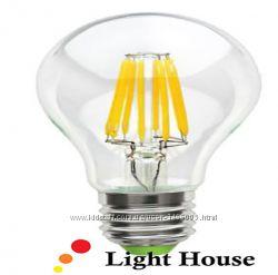 Лампа LED Filament - экономия 90 на освещении