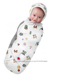 Пеленка-Кокон на липучке для активных малышей Канадское качество