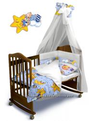 Комплект постельного белья Сонный Мишка Classic с балдахином и без