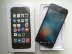 IPhone 5S 16GB Space Grey. Новый. NeverLock. В наличии