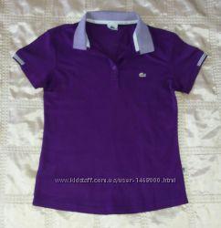 Футболка фиолетовая Lacoste р. 46 M-L