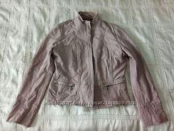 Куртка розовая кожа р. 44-48 M-L