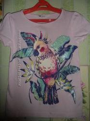 Красивая футболочка H&M