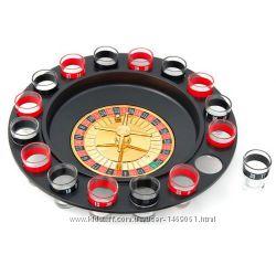 Алко-игра Рулетка на 16 рюмок