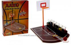 Настольная алко игра баскетбол 6 рюмок