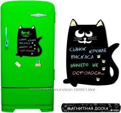 Магнитная доска кот