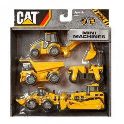 Набор Мини-машинок Caterpillar