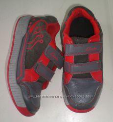 ботинки полуботинки Clarks 10. 5 G , 18. 5 см  кожа