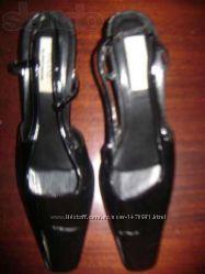 Туфли -босоножки женские лак-кожа