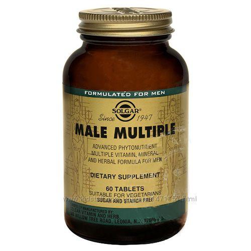 Комплекс витаминов для мужчин 60 шт, Солгар  Solgar