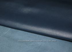 Кожа сафьян Deep Blue 1. 6 мм