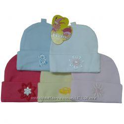 Шапки трикотажные для новорожденных Fido