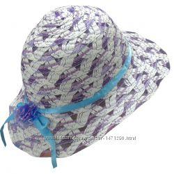 Шляпы соломенные детские Панамки на девочек